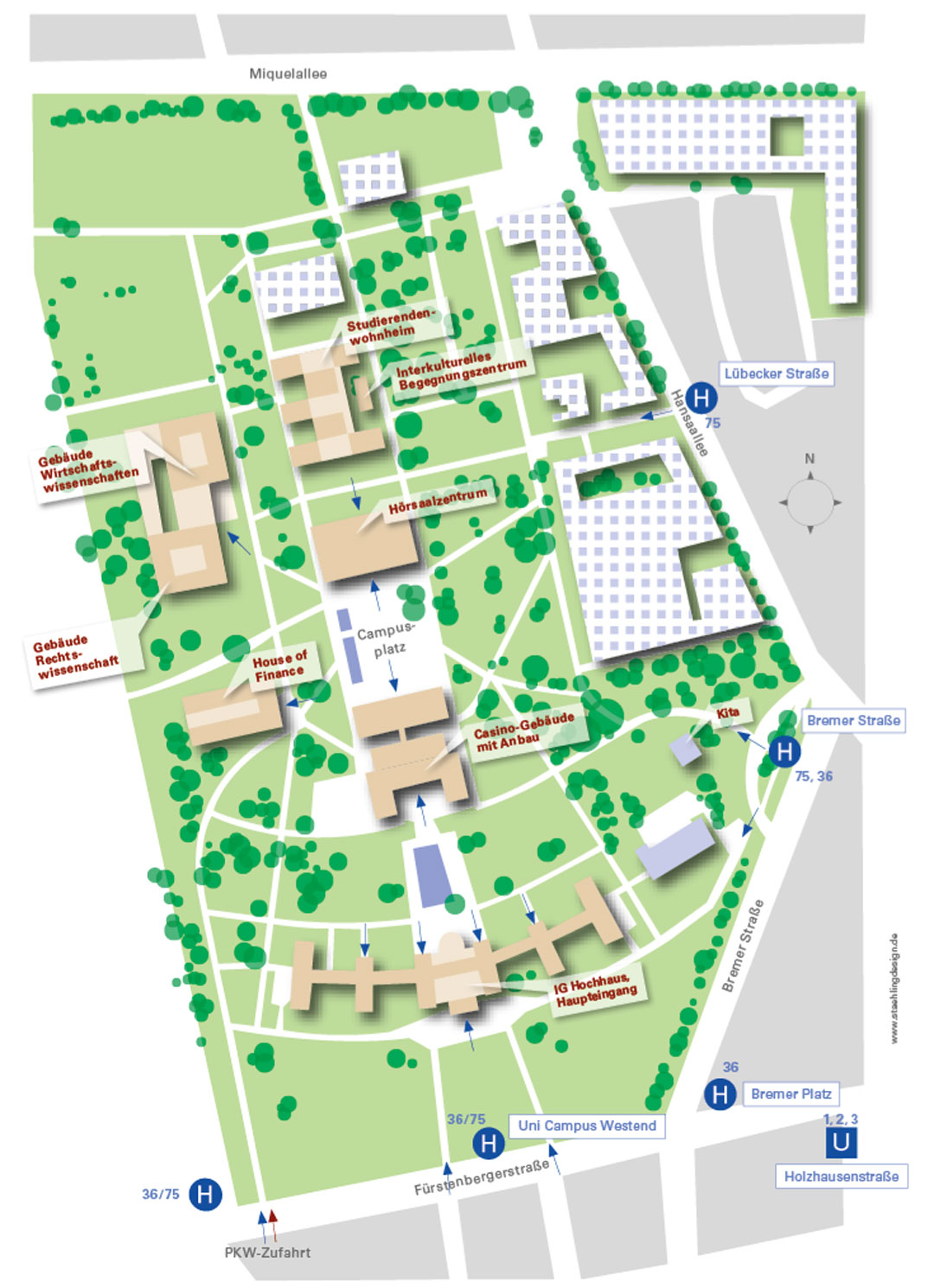 Goethe uni for Corporate design uni frankfurt